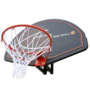 BEE-BALL ZY – 020 Panier de Basketball avec Panneau complet &filet pour usage extérieur &pour adultes et enfants