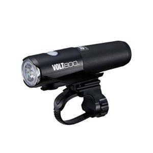 Cateye – HL-EL471RC Phare et reflecteur avant pour velo – 800 V – Noir