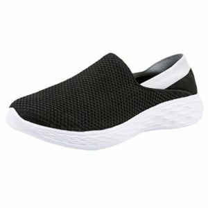 Chaussures de Running, Manadlian Femmes Sneakers Maille Respirantes Homme Chaussures Plates Baskets Couple Chaussures Simples