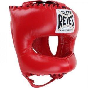 Cleto Reyes gratuit casque de boxe traditionnel Bout Pointu en nylon visage Barre Rouge Vendu par Minotaurfightstore