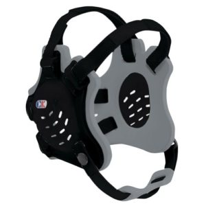Cliff Keen Tornado Wrestling Headgear – COLOR: Black/Silver/Black