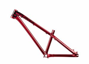 DARTMOOR TWO6PLAYER Short Cadre Street/Dirt/pumptrack 26″ Mixte Adulte, Glossy Red Devil