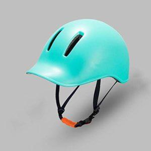 DEI QI Casque de vélo, Casque de Cycliste, Moulage intégré, vêtements d'équitation, Unisexe (Couleur : Vert, Size : M/L)