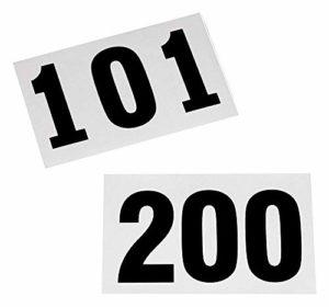 Dossards de 101 à 200