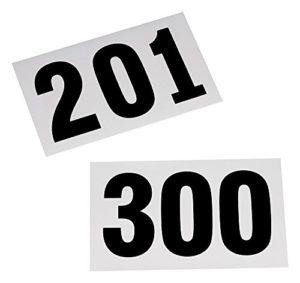 Dossards de 201 à 300