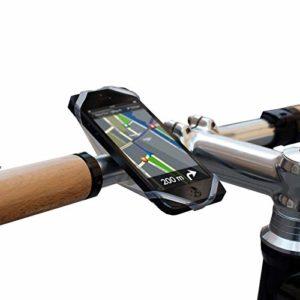 Finn téléphone portable universel – support pour vélo inclus Guide Bike City App, transparent