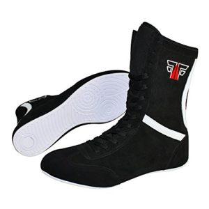 Fox Chaussures de Fight Cuir Boxing boxst iefel Boxschuhe Box Hog Boser Bottes/Noir, Noir