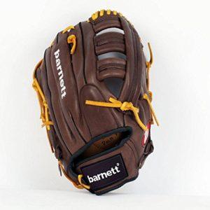 GL-127 gant de baseball cuir 12,7″ de compétition outfield 12,7″, pour droitier, marron