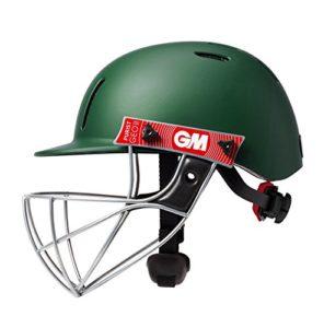 GM Purist Geo II Casque de Cricket, Mixte, Purist Geo II Helmet, Green, Grand