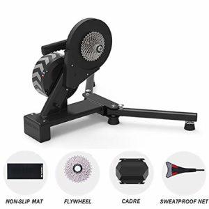 GSTARKL Smart Home Trainer, Entraînement Direct par chaîne, Compteur de Puissance intégré, Entraîneurs de vélo