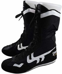 Haut Haut Boxe Chaussures Boxer Bottes pour Hommes Femmes Enfants