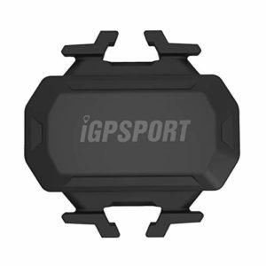 iGPSPORT Capteur de Cadence C61 sans Fil étanche IPX7,Double Module Bluetooth et Ant + Compatible et Garmin Edge