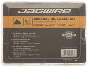 Jagwire Pro Mineral Bleed Kit de purge avec huile finish line 120 ml