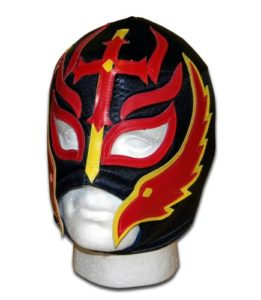 Luchadora ® Fils du Diable Feu lucha libre wrestling catch masque mexicaine