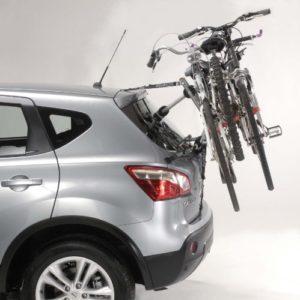 Mottez A025PMON Porte-vélo à Sangles Gris, 3