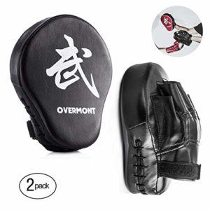 Overmont Patte d'Ours Boxe Boxing Pad Cible Boxe pour entraînement de Boxe Tækwondo Muay Thai etc.