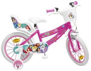 Pik&Roll Princesse Vélo Fille – 16″ – Rose