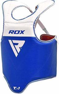 RDX TKD Plastron de Boxe Protection MMA Pro Advance Corps Chest Protector Petit Garde Armour(Réversible)