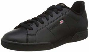 Reebok Npc II, Baskets mode homme, Noir (6836), 47
