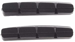 remblokrubbers Shimano V-brake 55 x 11 mm noir 40 pièces