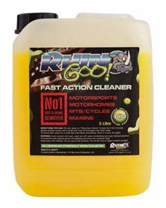 Rhino Goo! Fast Action Cleaner 5L – Nettoyant pour vélos et dégraisseur de chaînes pour VTT, vélos de Route, Motocross, quads et Motos de Route