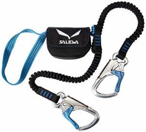 Salewa Set Via Ferrata Premium Attac, Mixte, 00-0000000972, Silver/Royal Blue, Neue Norm Adulte, Multicolor, Taille Unique