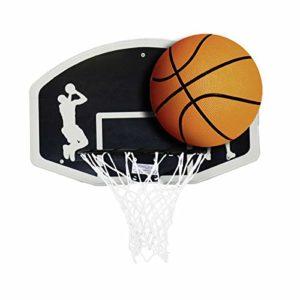 Set de Basket-Ball – Panneau (90 cm) + Cercle avec Filet (45 cm) – Ballon Taille 7
