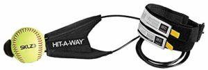 SKLZ Hit-a-way Swing d'entraînement pour Baseball et Softball–Améliorez votre Batteur de puissance, Pacing, Délais, et de Confiance, DE développement mécanique de swing, Simule véritable Ouverture automatique, obtenir des heures de swing d'entraînement, JS02-000-06, noir/jaune, N/A