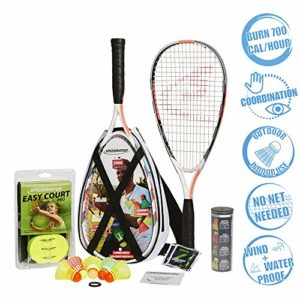 Speedminton S900 Set Mixte Adulte, Blanc
