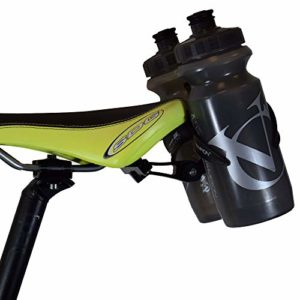 VeloChampion Double Cage à Bouteille d'eau – Alliage Noir pour Vélo Triathlon