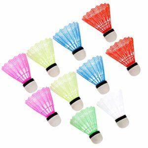 VORCOOL Ressort de volants de badminton le ressort de 12pcs, la plastique former