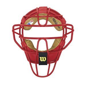 Wilson Dyna-lite Acier Catcher de masque, écarlate