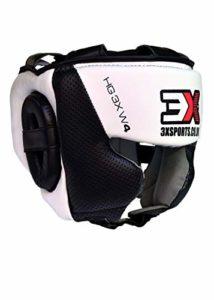 3X Professional Choice Casque De Boxe MMA Grille Protection Garde de Tête Muay Thai Kickboxing Arts Martiaux Krav Maga Entraînement Garcons Filles (Certifié CE)