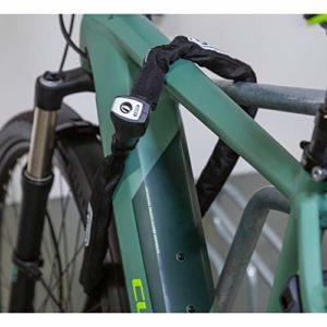 ABUS – Chaîne antivol pour vélo – 880 / 85 – Noir – 7 mm / 85 cm