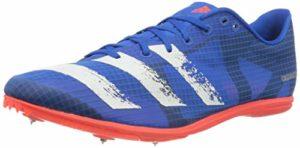 adidas Distancestar, Chaussure de Gymnastique Homme, Bleu Gloire/Blanc Blanc/Rouge Solaire, 39 1/3 EU
