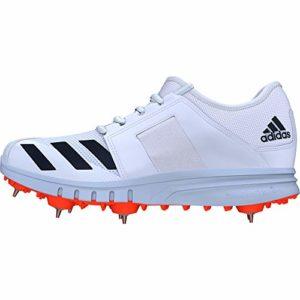 adidas Howzat Cricket Chaussures de Course à Clous SS20 – Blanc – Blanc, 47.5 EU EU