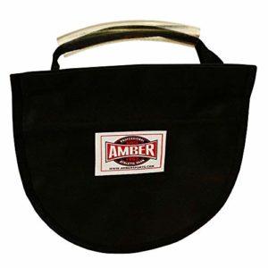 Amber Athletic Gear Discus Carry Bag pour deux instruments – Noir