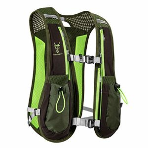 AONIJIE Running Backpack Sac à dos fonctionnel léger d'hydratation Pack 5.5L (Gris)