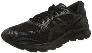 Asics Gel-Nimbus 21 1011a169-001, Chaussures de Running Homme, Noir (Black/Dark Grey 001), 46 1/2 EU