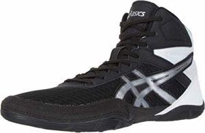 Asics Matflex 6 Chaussures de catch – Pour homme, Noir (Black/Silver), 48 EU