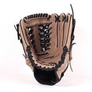 BARNETT SL-110 Gant de Baseball Cuir Infield/Outfield 11″, Marron (REG)