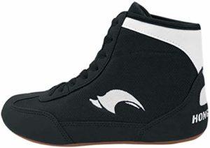 Day Key Chaussures de Lutte Respirante Chaussures de Boxe pour Hommes Femmes Enfants Garçons et Filles