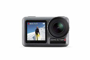 DJI Osmo Action Cam – Caméra d'Action, SnapShot, Imperméable 11M, Contrôle Vocal, Résitance à la Température, Fonctions Intuitives, Modes Personalisés, Revêtement Protecteur et Anti-Saleté