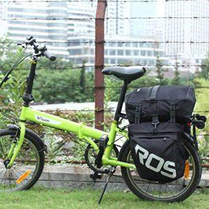 Docooler Sourcingbay 3en 1Multifonction Route VTT Vélo de Montagne Sac de vélo Sacoche Siège arrière Sac de Trunk