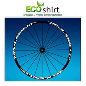 Ecoshirt ZS-D98X-JYK9 Stickers Jante Rim Mavic Crosstrail Bike Am58 MTB Downhill Blanc 29″