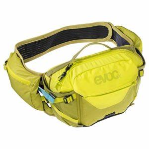 evoc Le Sac Hip Pack Pro est Un Dispositif de Haute Technologie avec aération optimale pour Transporter l'eau et Autres équipement Essentiels sur des trajets Plus Courts Dos Mixte Adulte, Jaune/Vert