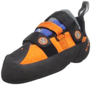 Evolv SHAMAN Chausson d'escalade Bleu orange – 8 US / 41 EUR