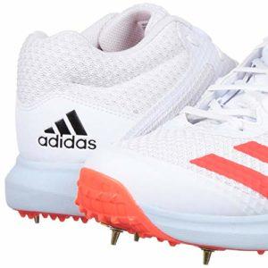 Générique 2020 Vector Mid Chaussures de Cricket Blanc/Rouge (Retail £140.00) – Blanc – Blanc/Rouge, 42 2/3 EU