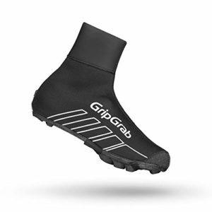 GripGrab Racethermo X Chaussures d'hiver imperméables pour vélo, Mixte, 2019, Noir, 42/43