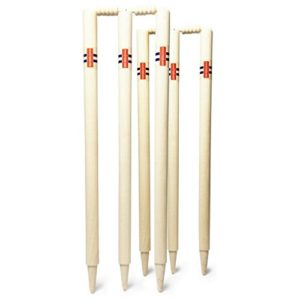 Gris Nicolls Extratec protection Club de cricket estompes